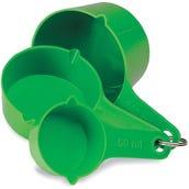Metric Measuring Cups, Set of 3