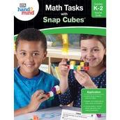 Math Tasks Snap Cubes Book, Grades K-2