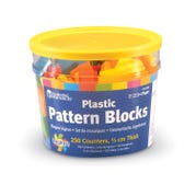 Brights!™ Pattern Blocks, Set of 250