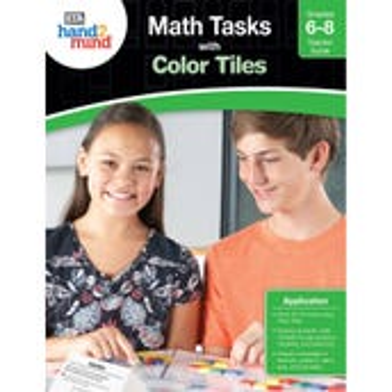 Math Tasks Color Tiles EBook, Grades 6-8
