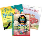 Reading Comprehension Retelling Book Collection (5 Books), Grades K-1