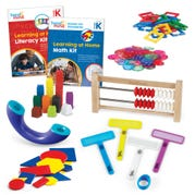 Learning at Home Math & Literacy, Grade K