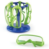 Primary Science Safety Glasses - Set of 6 in a Stand
