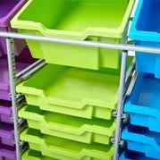 STEM Lab Makerspace Cart, Empty Cart