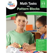 Math Tasks Pattern Blocks Book, Grades 3-5