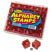 Alphabet & Punctuation Stamp Sets, Lowercase
