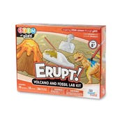 STEM at Play® ERUPT! Volcano and Fossil Lab Kit