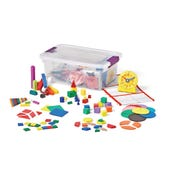 Hands-On Standards® Math Intervention: Geometry, Measurement & Data Small Group Kit, Grade 1