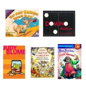 Math General Book Collection (7 Books), Grades 2-3