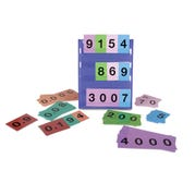 Place Value Strips Decimal Numbers, Set of 30