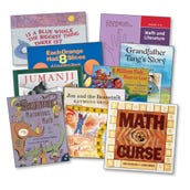 Marilyn Burns Math and Literature Grades 4-6 Collection, Set of 17