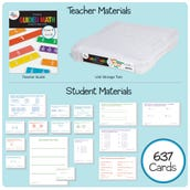 Guided Math Kit, Grade 4 - Unit 5: Fractions