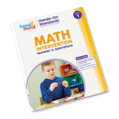 Hands-On Standards® Math Intervention: Number & Operations, Grade 1