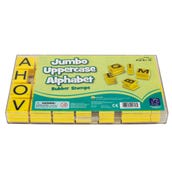 Alphabet Stamps Jumbo Uppercase