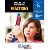 Hands-On Standards®, Common Core Fractions Teacher's Resource Guide, Grade 5