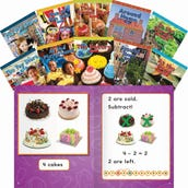 Math Books Set, Kindergarten, Set of 10
