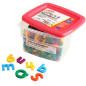 Multicolored Alpha And Mathmagnets®(Set Of 214)