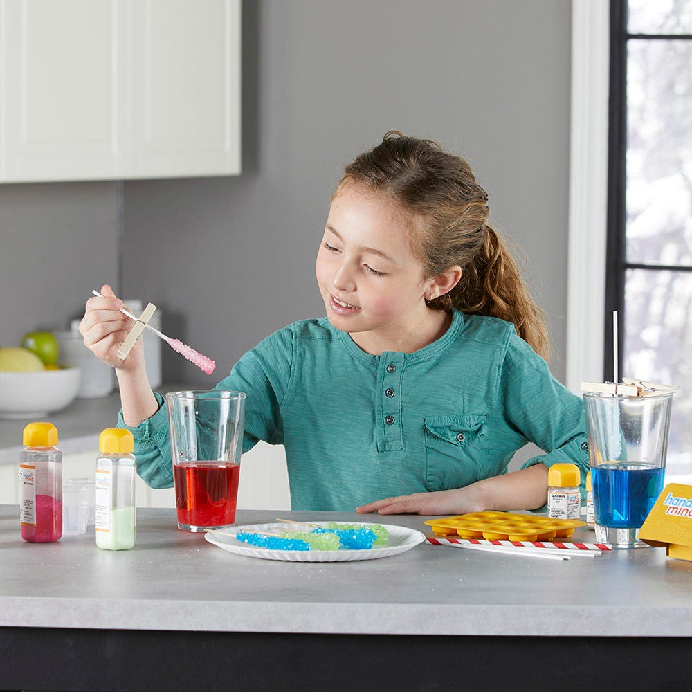 Create your own candy with this science lab kit