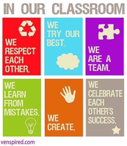 In our classroom poster