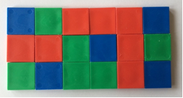 Color Tiles in classroom