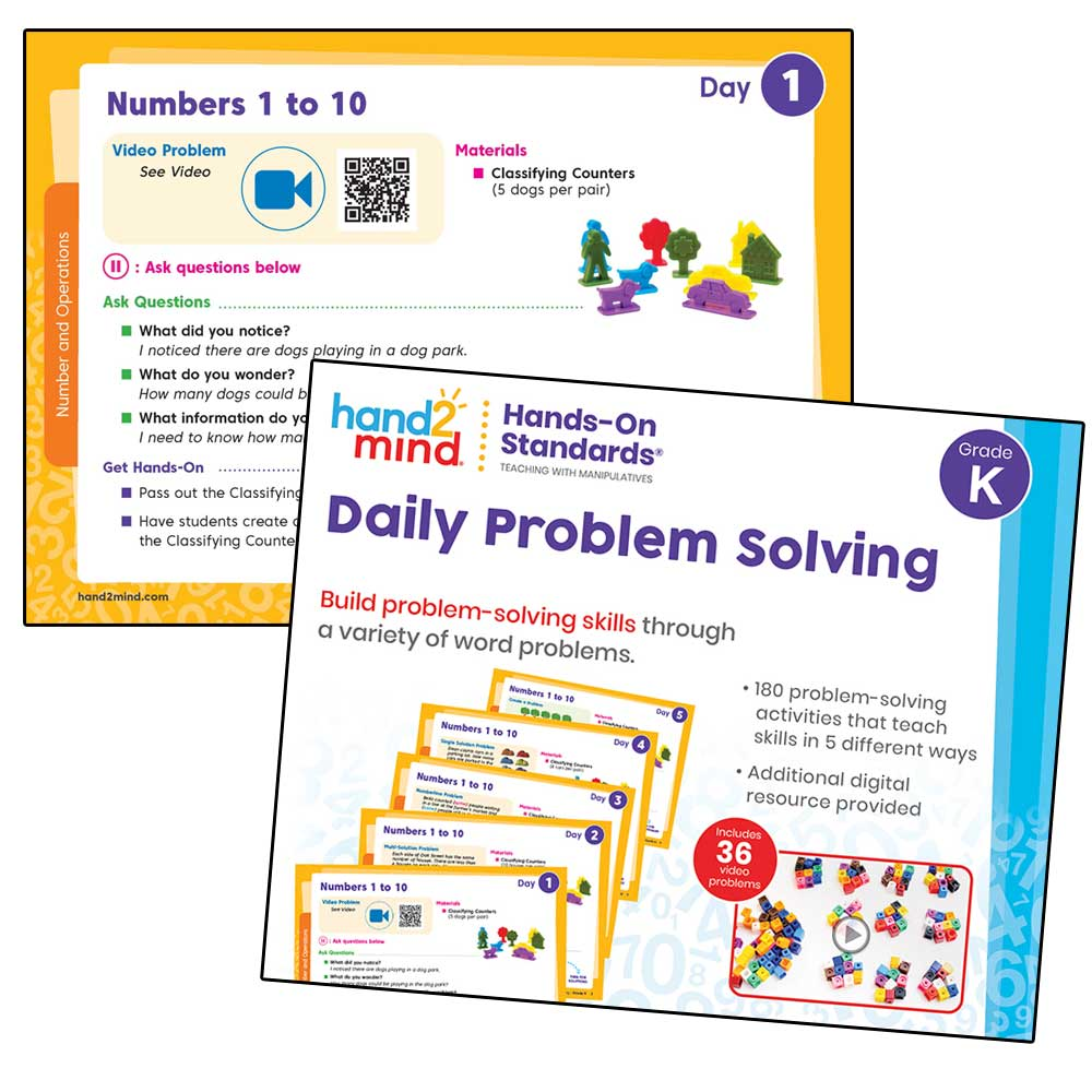daily problem solving task cards