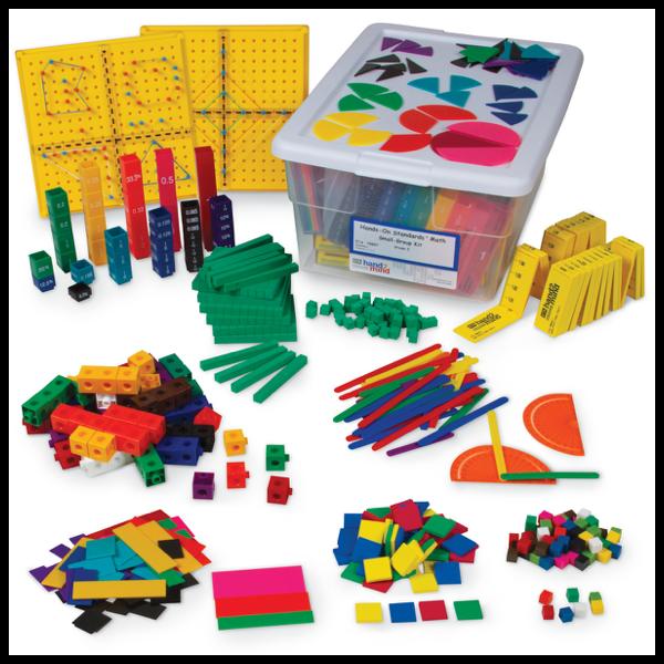 hands-on standards manipulative kit