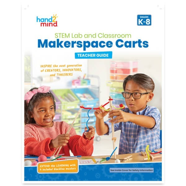 makerspace carts teacher guide cover