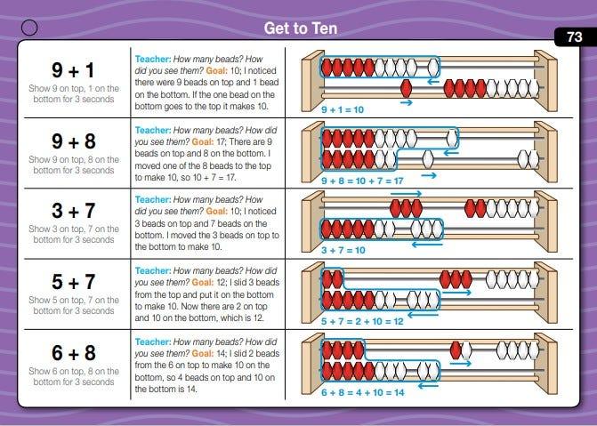Daily math fluency grade 1 number strings sample lesson