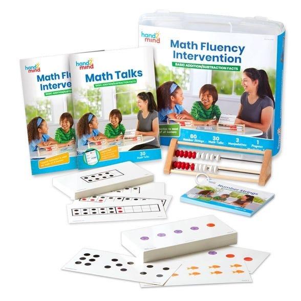 Math Fluency intervention kits