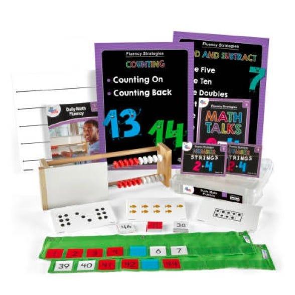 Daily math fluency kit for first grade teachers