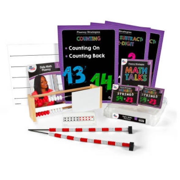 Daily Math Fluency Kit for second grade teachers