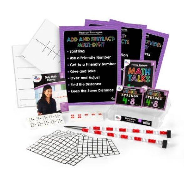 Daily Math fluency kit for third grade teachers