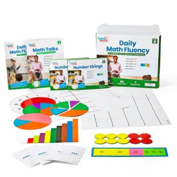 Daily math fluency kit for sixth grade teachers