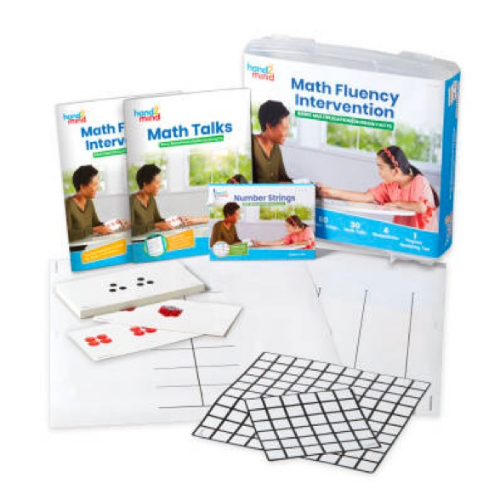 kits to help teachers give intervention to students in need of extra help in basic multiplication and division facts