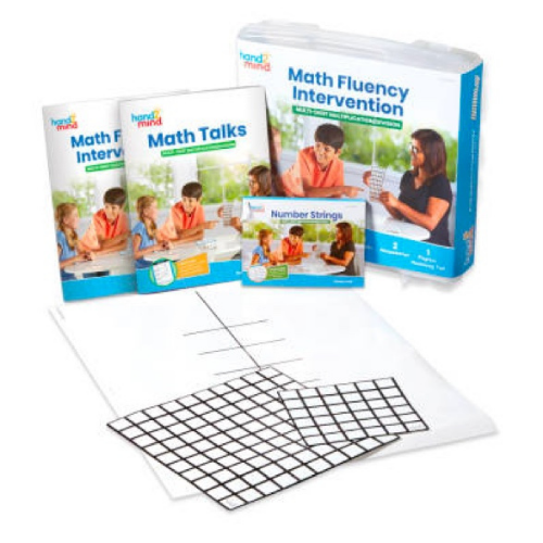 a kit that can be used for intervention for muli-digit multiplication and division problems to help struggling students