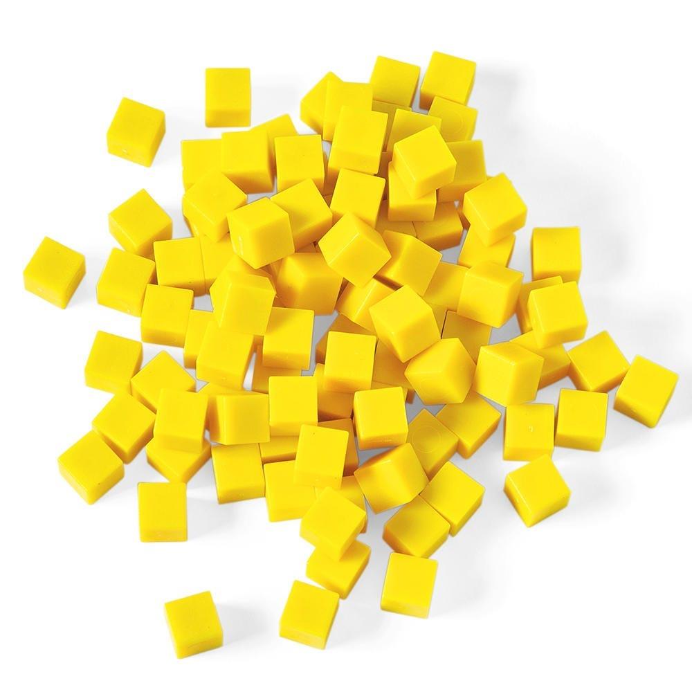Base Ten yellow blocks manipulatives