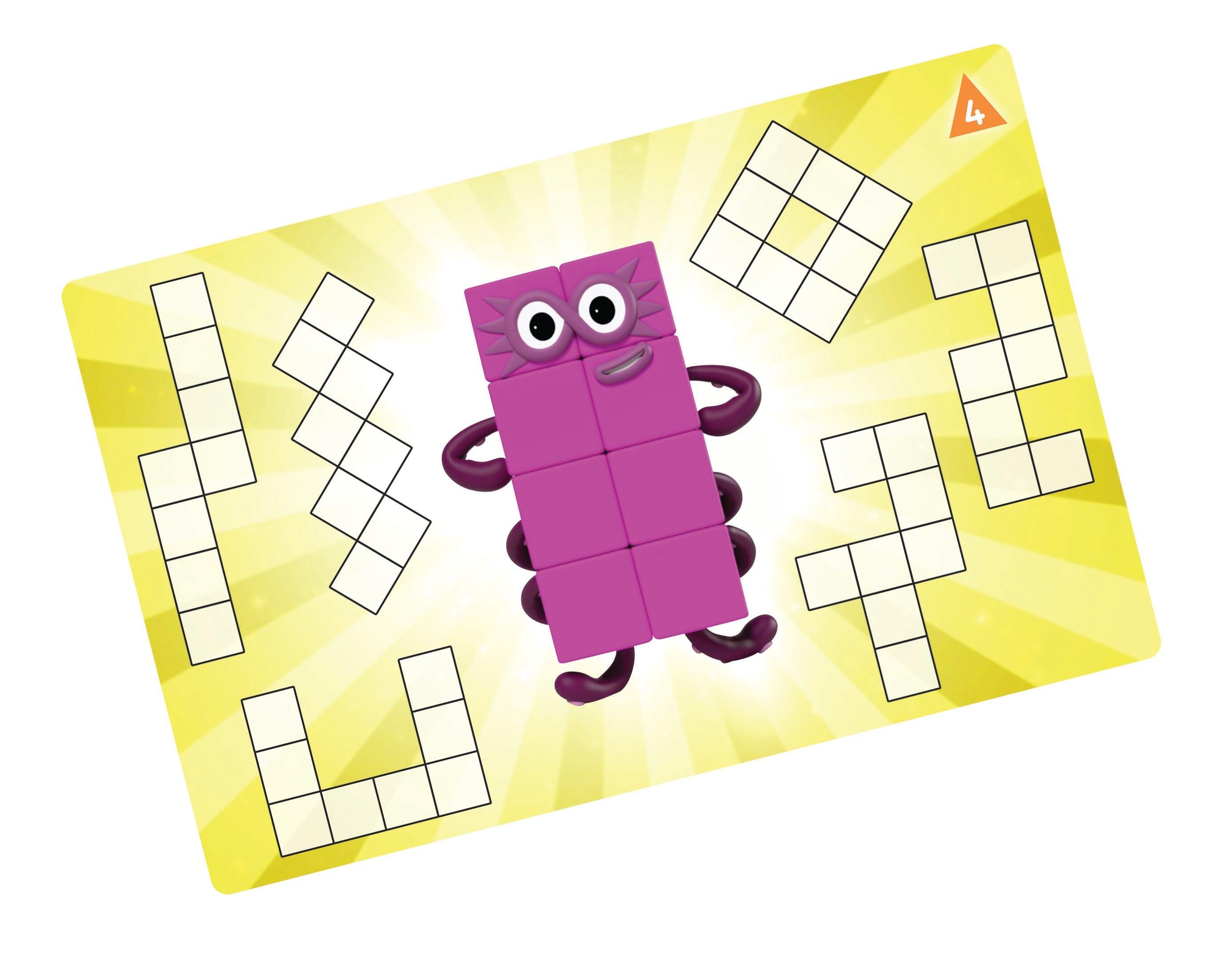 Numberblocks Activity card sample