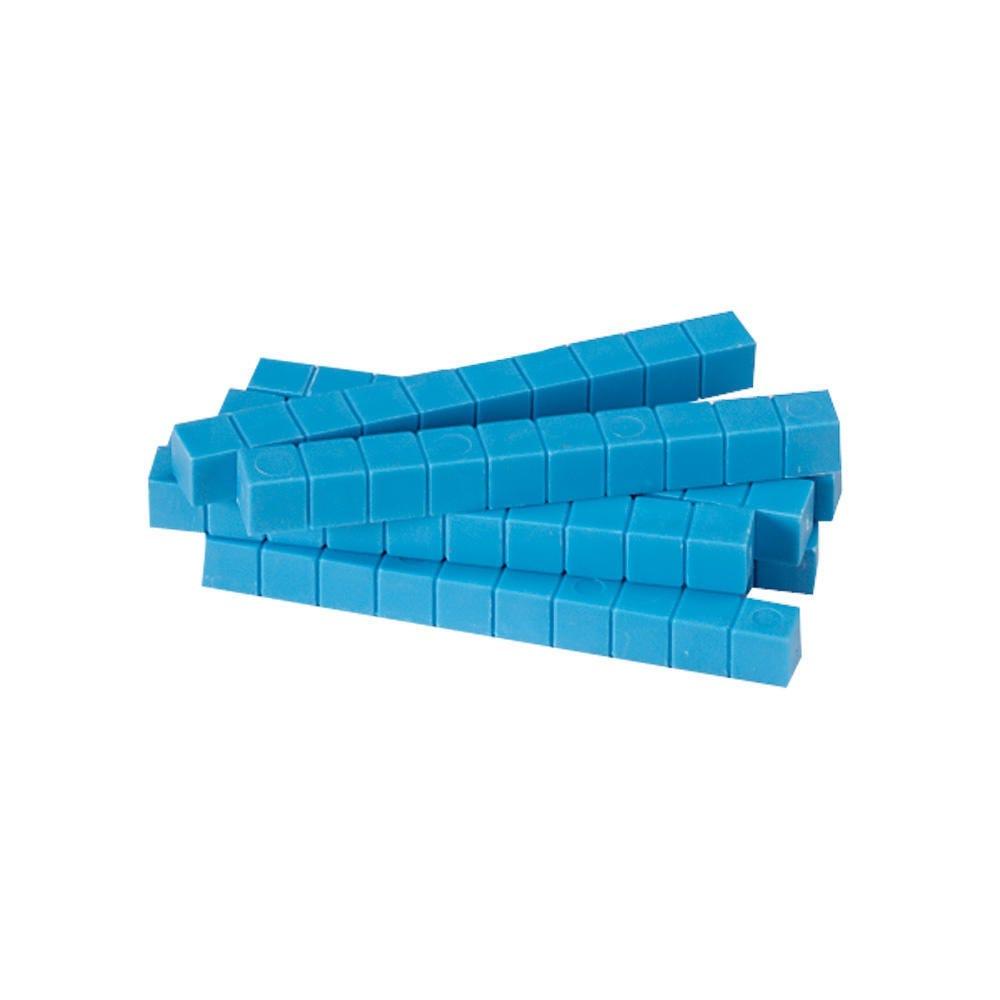 Base Ten blue rods manipulatives