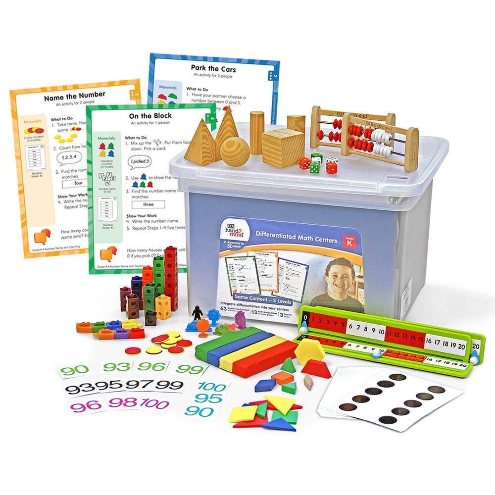 Supplemental Math Differentiated Math Centers Kit