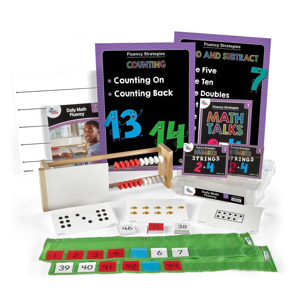 Supplemental Math daily math fluency kit