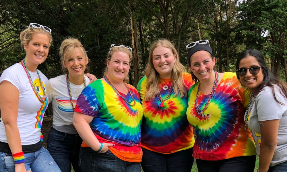 hand2mind Human Resources team at our annual summer picnic