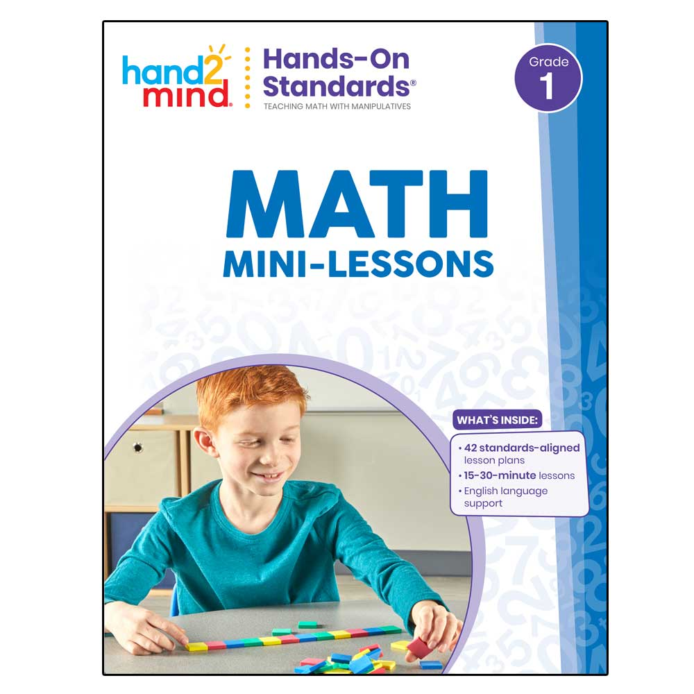 Teacher guide cover for hands-on standards mini-math lessons