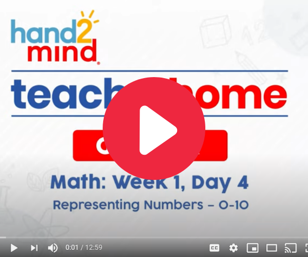 Representing Numbers 0-10 video for kindergarteners