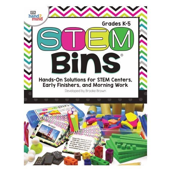 STEM Bins teacher guide cover