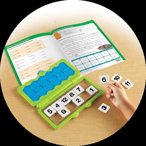Third step for VersaTiles Interactive Workbooks