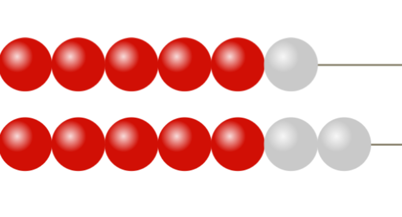 Addition with Rekenrek beads
