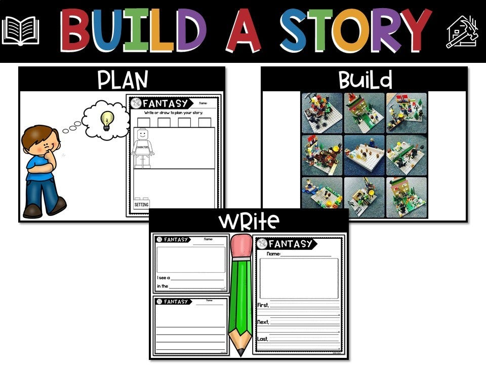 build a story pack, infographic