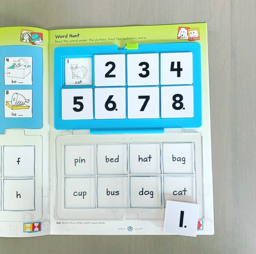 Make learning to read fun with VersaTiles workbooks from Hand2mind