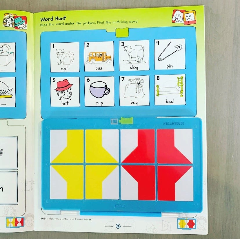 VersaTiles from Hand2mind make learning to read fun in a puzzle-like way.