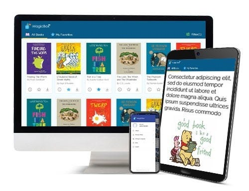 MagicBox digital platform allows access to Hand2mind resources across multiple device types.
